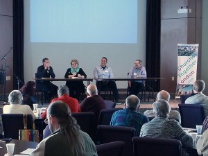 Panel discussion at Churches Together London