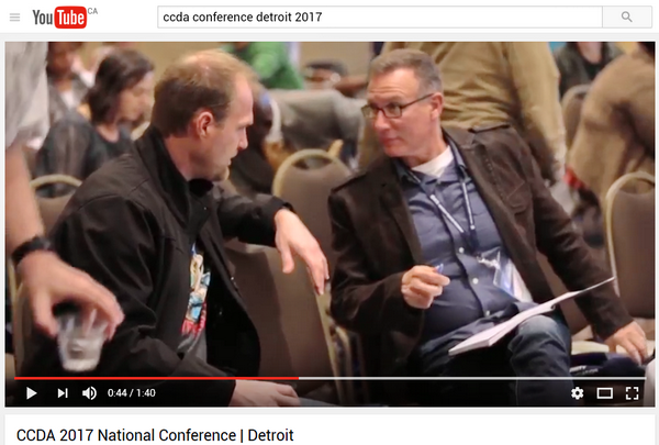 youtube video of ccda conference